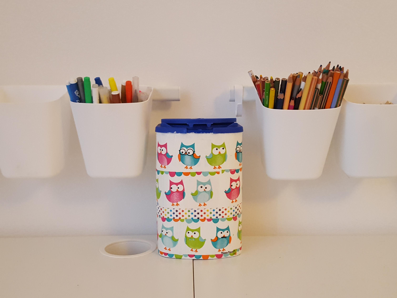 Customiser Un Bureau Blanc : Mon nouveau joujou créatif: la customisation de boîtes de lait pour bébé