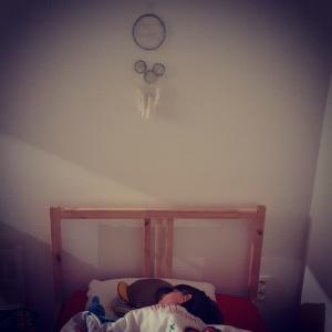 Dreamcatcher mur nuit