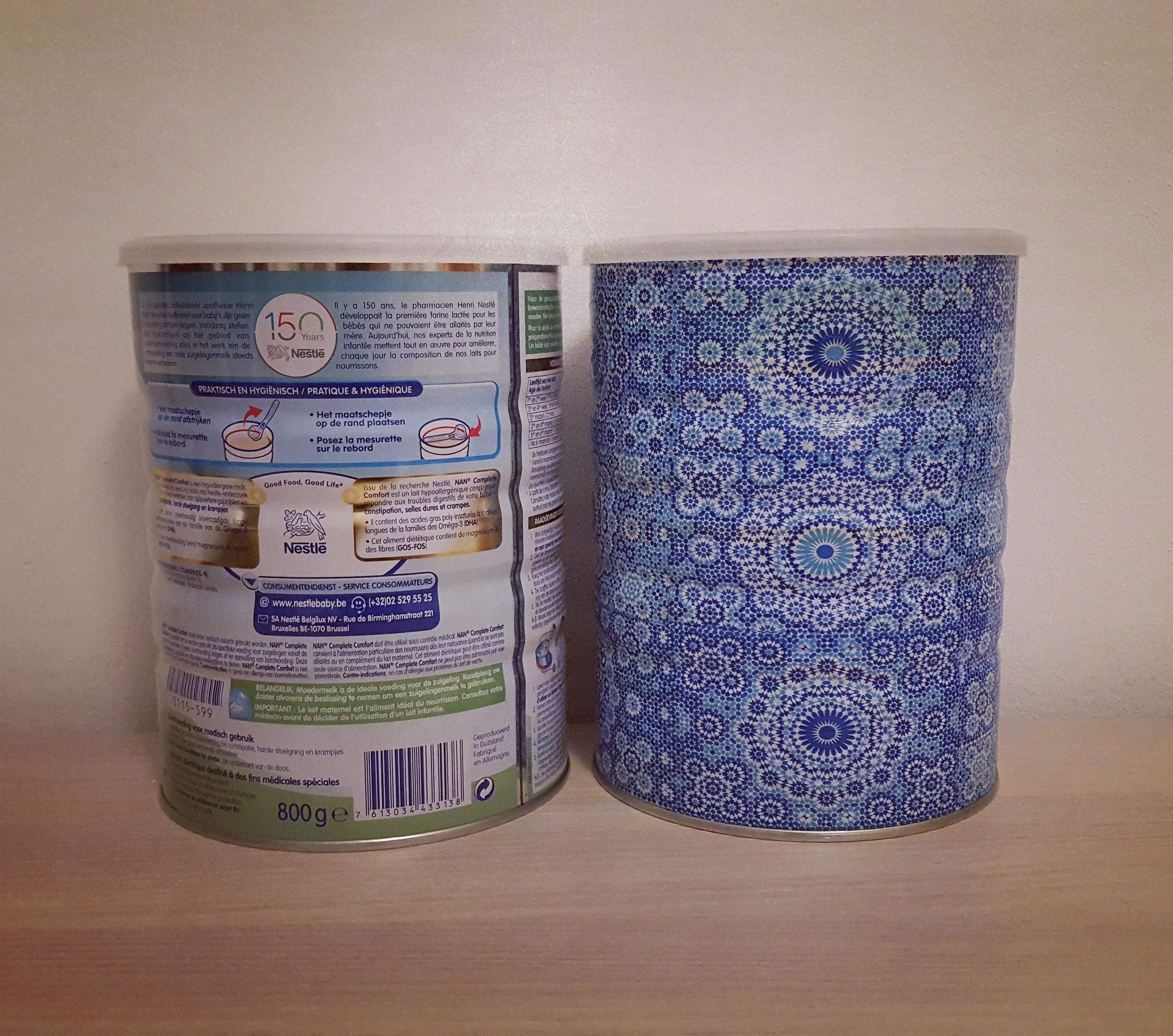 Comment Décorer Des Boites De Conserve mon nouveau joujou créatif: la customisation de boîtes de