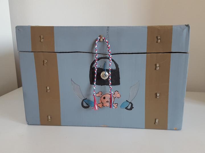 D'une boîte en carton à un coffre autrésor