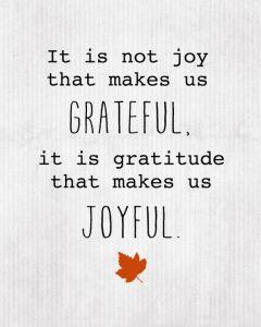 grateful joyful