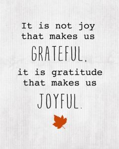 grateful joyful