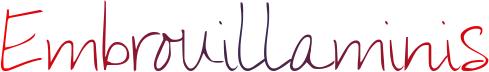 embrouillaminis signature 4